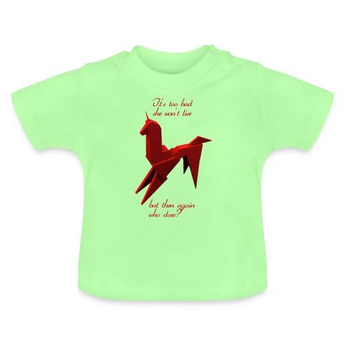 UnicornioBR2 - Camiseta bebé