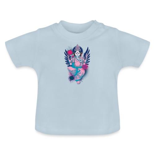 Ganesha dein Glücksgott macht den WEG frei - Baby T-Shirt