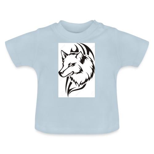 pul loup - T-shirt Bébé