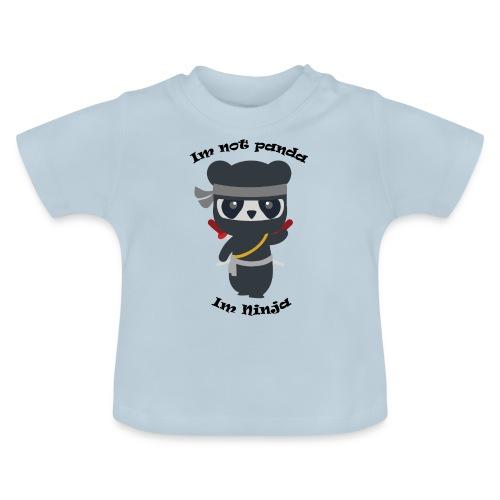 Non sono un Panda - Maglietta per neonato