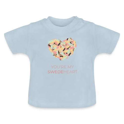 SWEDEheart - Baby-T-shirt