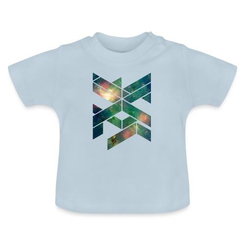 Galaxie Geometische Form - Baby T-Shirt