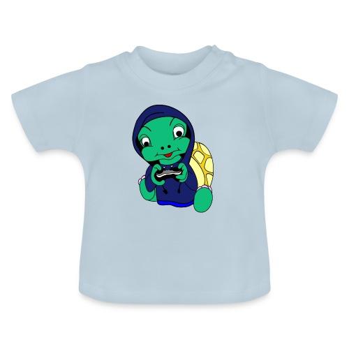 Hoodie gamer schildpad - Baby T-shirt