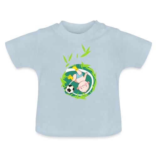 Umstandsmode T-Shirt mit Motiv / Fussball - Baby T-Shirt