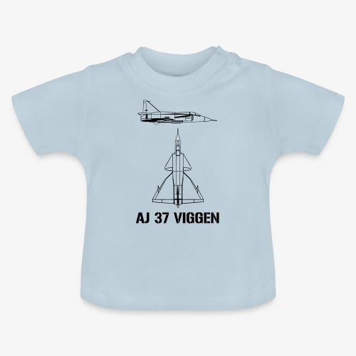 AJ 37 VIGGEN - Baby-T-shirt