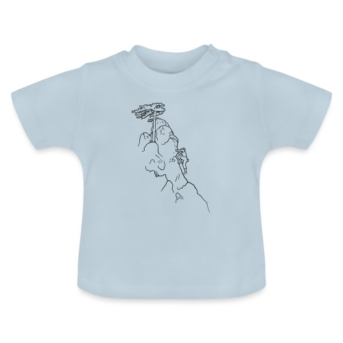 Kletter-Girl, schwarz, 1 - Baby T-Shirt