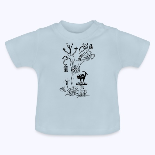 PsyTreeTwo black - Baby T-Shirt