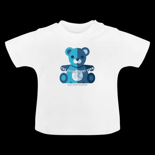 Rocks Teddy Bear - Blue - Baby T-shirt