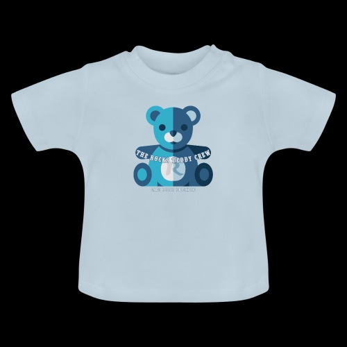 Rocks Teddy Bear - Blue - Baby T-shirt