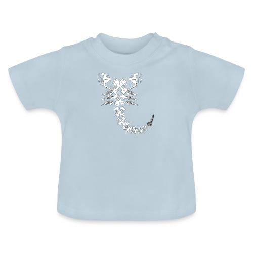 projekty znakow zodiaku moto scorpio - Koszulka niemowlęca