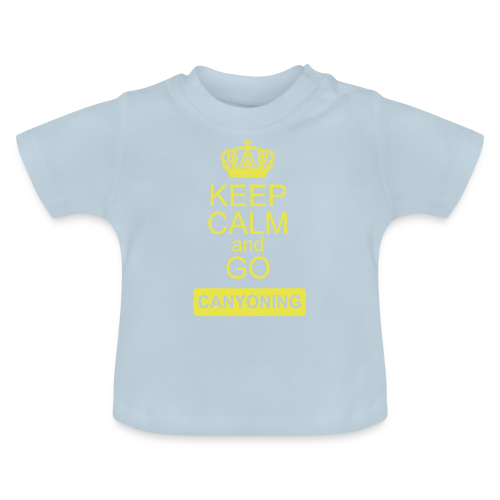 keep calm and go canyoning 2 - Baby T-Shirt