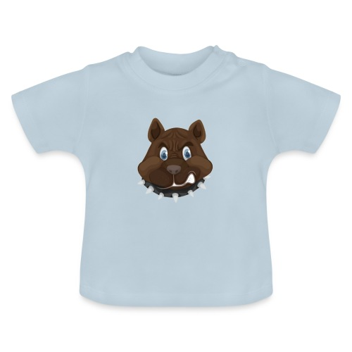 PERRO ENFADADO - Camiseta bebé