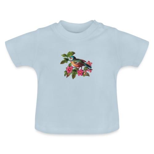 vintage vogeltjes patch - Baby T-shirt