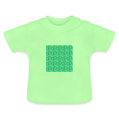 kidfootprint a7 - Baby T-Shirt