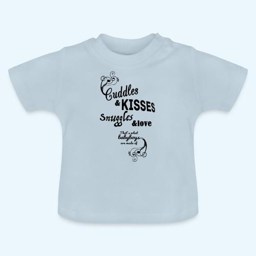 Cuddles and Kisses (Boys) - Baby T-shirt