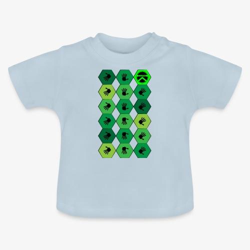 |K·CLOTHES| HEXAGON ESSENCE GREENS - Camiseta bebé