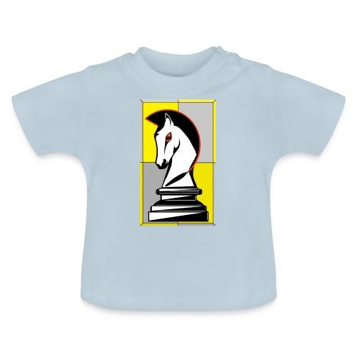 cavallo Scacchi Vers 2 - Maglietta per neonato