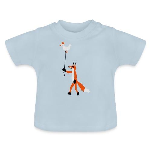 Fuchs und Henne - Baby T-Shirt