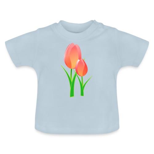 Belle fleur - T-shirt Bébé