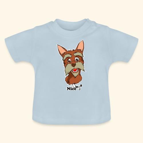 Nice Dogs schnauzer - Maglietta per neonato