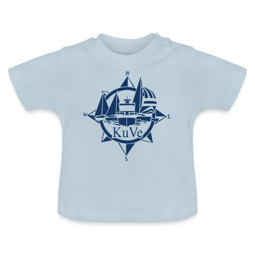 KuVe_sininen - Vauvan t-paita