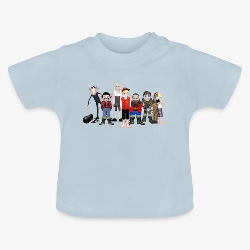 Askeladden og de gode hjelperne - Baby-T-skjorte