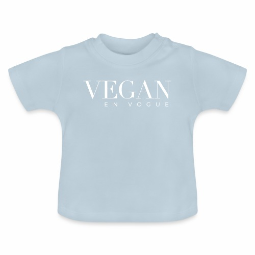 Vegan en vogue - The big Statement - Baby T-Shirt