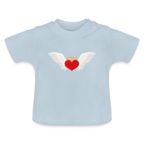 Winged heart - Angel wings - Guardian Angel - Baby T-Shirt