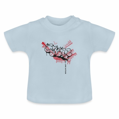 All Line Action ver01 - Baby T-shirt