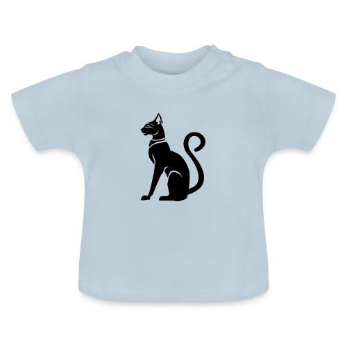 Bastet - Katzengöttin im alten Ägypten - Baby T-Shirt