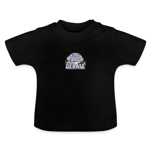 Flat Earth Debate Solid - Baby T-Shirt