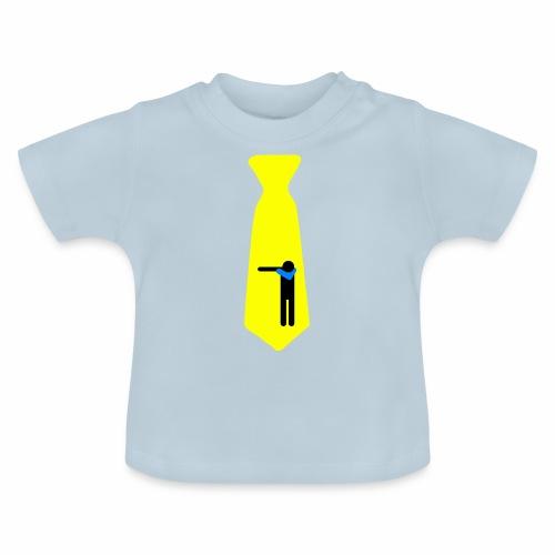 Dab Cravatta Gangsta Yellow - Maglietta per neonato