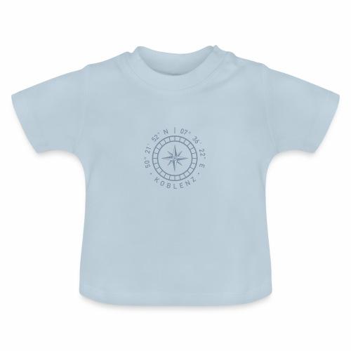 Koblenz – Kompass - Baby T-Shirt