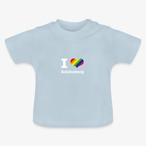 I love Schöneberg Rainbow - Baby T-Shirt