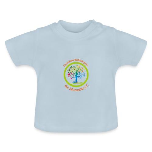 Waki Logo cmyk mitSchrift - Baby T-Shirt