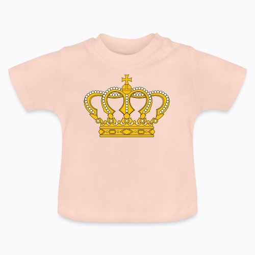 Golden crown - Baby T-Shirt