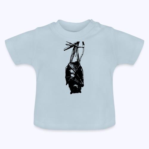 HangingBat schwarz - Baby T-Shirt