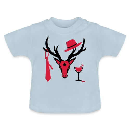 Hirsch / Deer the Gentlemen b 2c Party - Baby T-Shirt