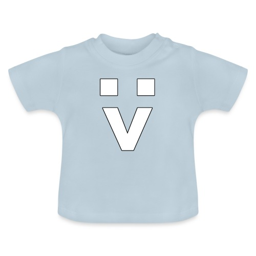 :> Smiley - Baby T-Shirt