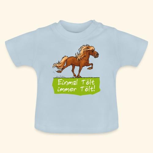 Island Pferd Tölt - T-shirt Bébé