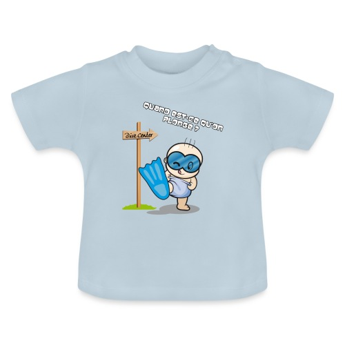 bb plonge - T-shirt Bébé
