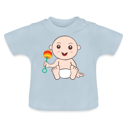 Glückliches Baby - Baby T-Shirt