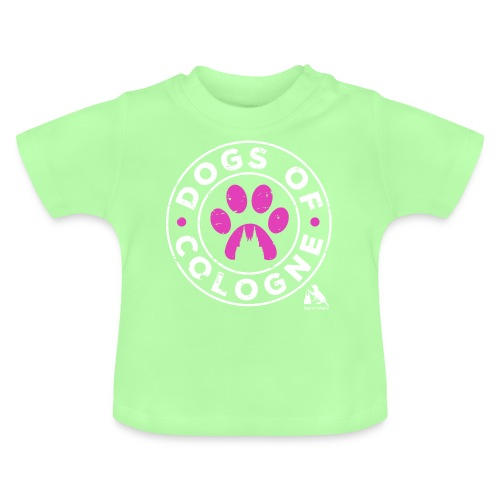 Dogs of Cologne - das Original! In Pink! - Baby T-Shirt