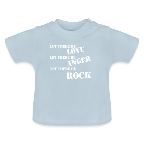 Love Anger Rock - Baby T-Shirt
