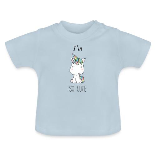 CUTE UNI FOR KIDS - Camiseta bebé