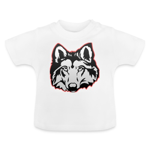 Wolfie (Red) - Baby T-Shirt