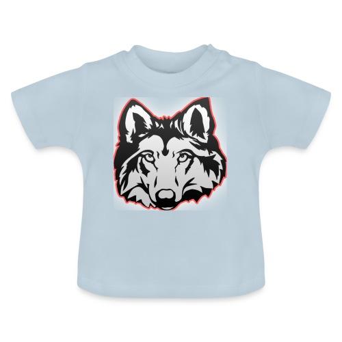 Wolfie (Red) - Baby T-Shirt