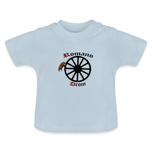 626878 2406580 lennyromanodromutanbakgrundsvartbjo - Baby-T-shirt