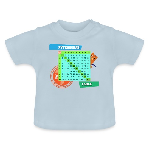 Pythagoras table - Baby-T-skjorte