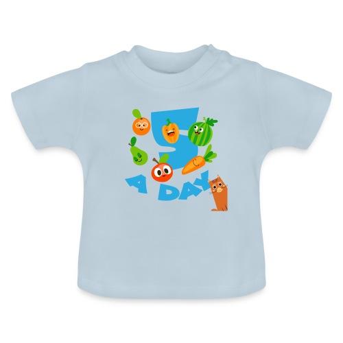 Duna five a day - Baby-T-skjorte